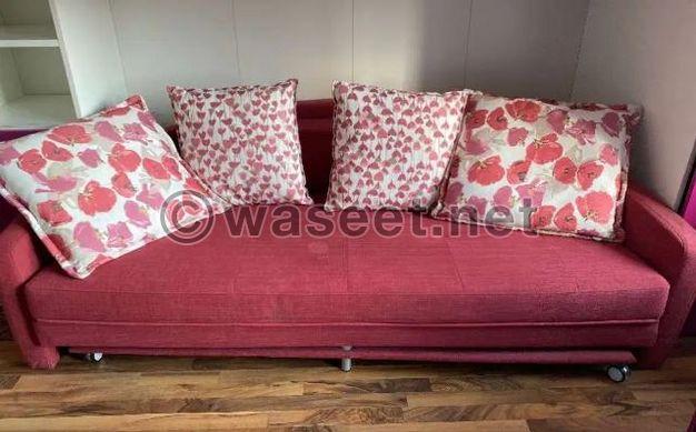 For Sale Sofa cum bed