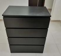 For sale Ikea Dresser black like new