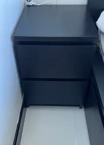 For sale Ikea bed side tables