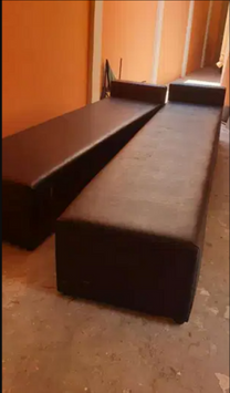 For sale Large black sofa set