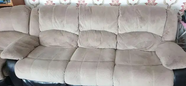 For sale Reclining sofas 1