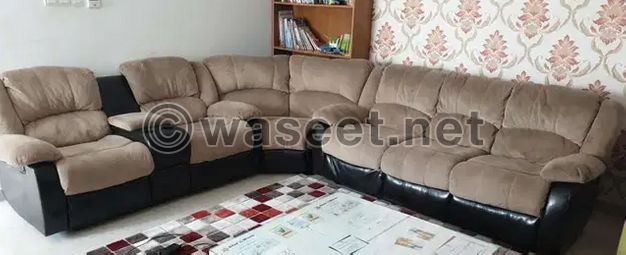 For sale Reclining sofas