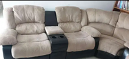 For sale Reclining sofas 2