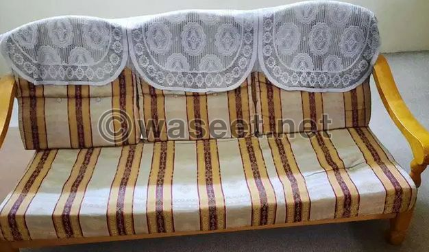 For sale Wooden Sofa