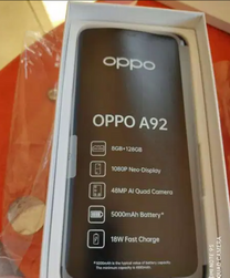 For sale oppo A92