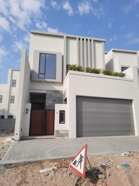 For sale two villas in Sitra, Al Kharjiyah spaces:  1. Land: 186 m Building: 330 m  2. The land: 180 m Building: 327 m  Number of rooms: 5 master room