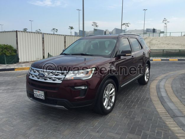 Ford Explorer Full Option 2019