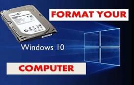 تهيئة الكمبيوتر