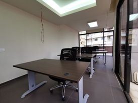 Fully Furnished Office with Terrace for Rent in Sin El Fil