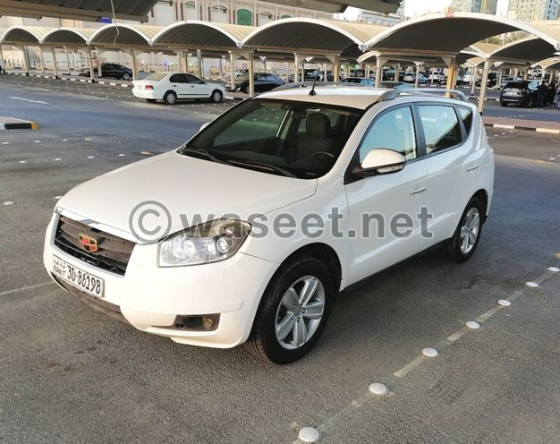 Geely Emgrand X7 - 2013 White