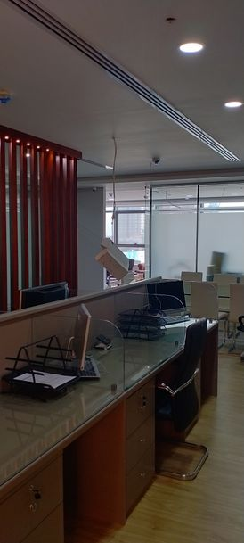 we do all kind of glass Partition work