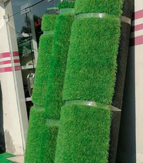 Grass carpet for garden