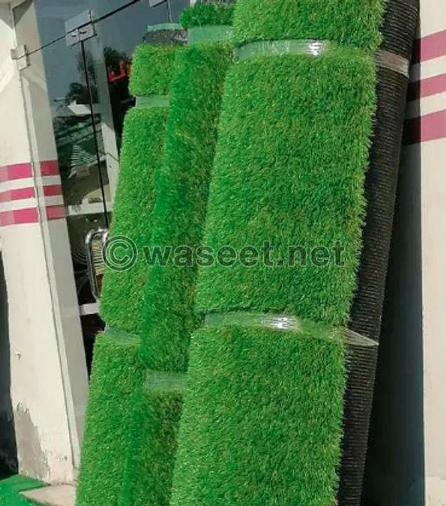 Grass carpet for garden