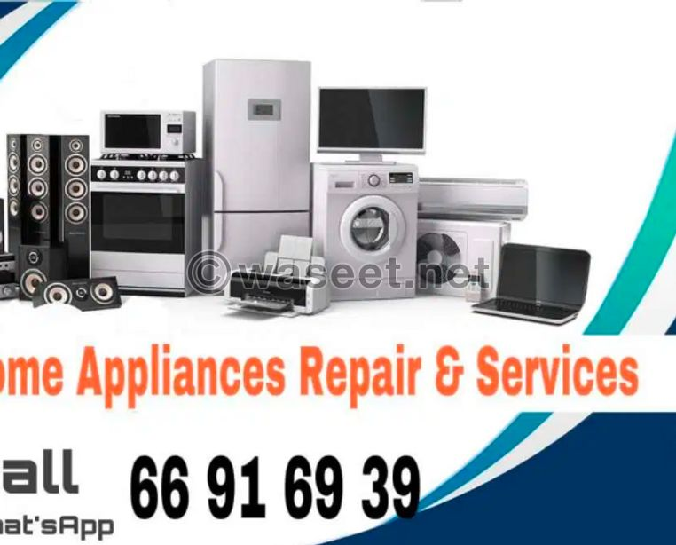 HOME APPLIANCES repair and Service