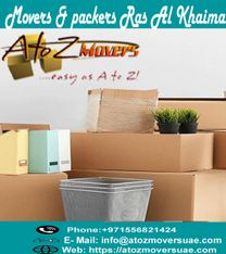 Hire the best movers and packers Rak - A to Z movers & Storage