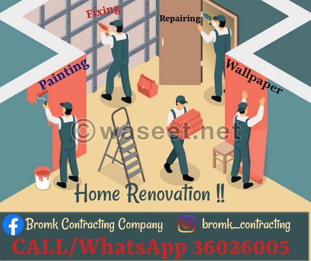 Home Renovation and Maintenance