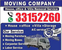 House and moving paking shifting