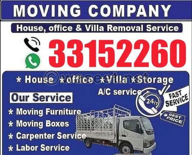 House and moving paking shifting