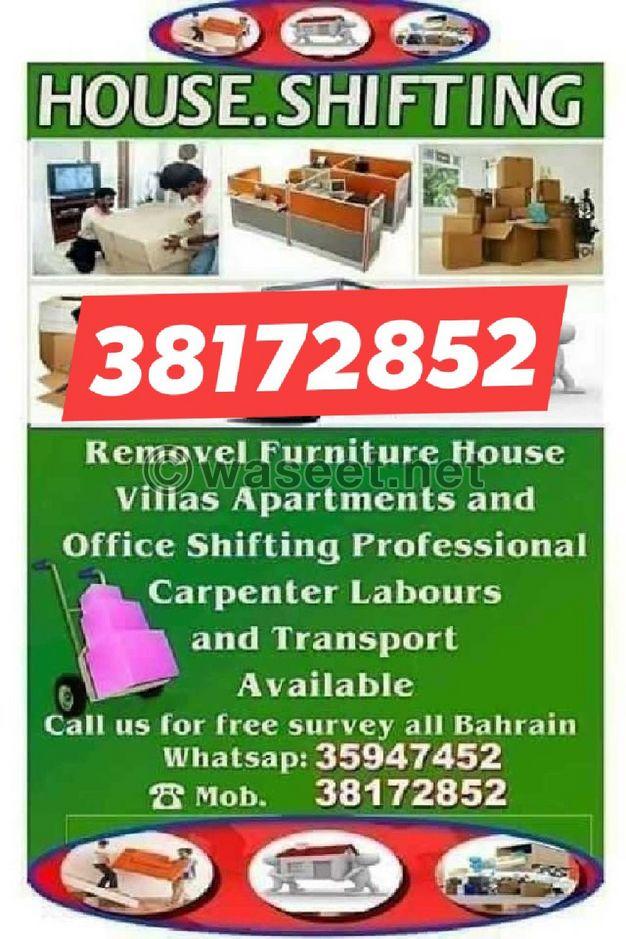 House flat villa offices shifting
