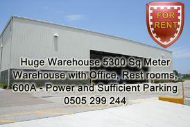 Big Warehouse, 5300 Square Meter