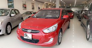 Hyundai Accent 2017 Red