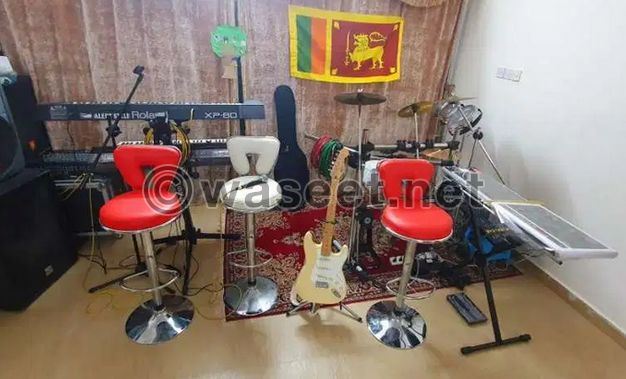 Indoor and outdoor sounds for rent.