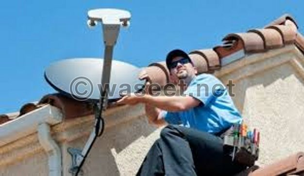 Installing its satellites