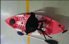 Kayak for kids - Pink Camo 1
