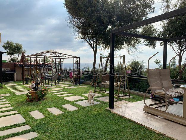 Apartment for Sale with Garden in Kouba Batroun