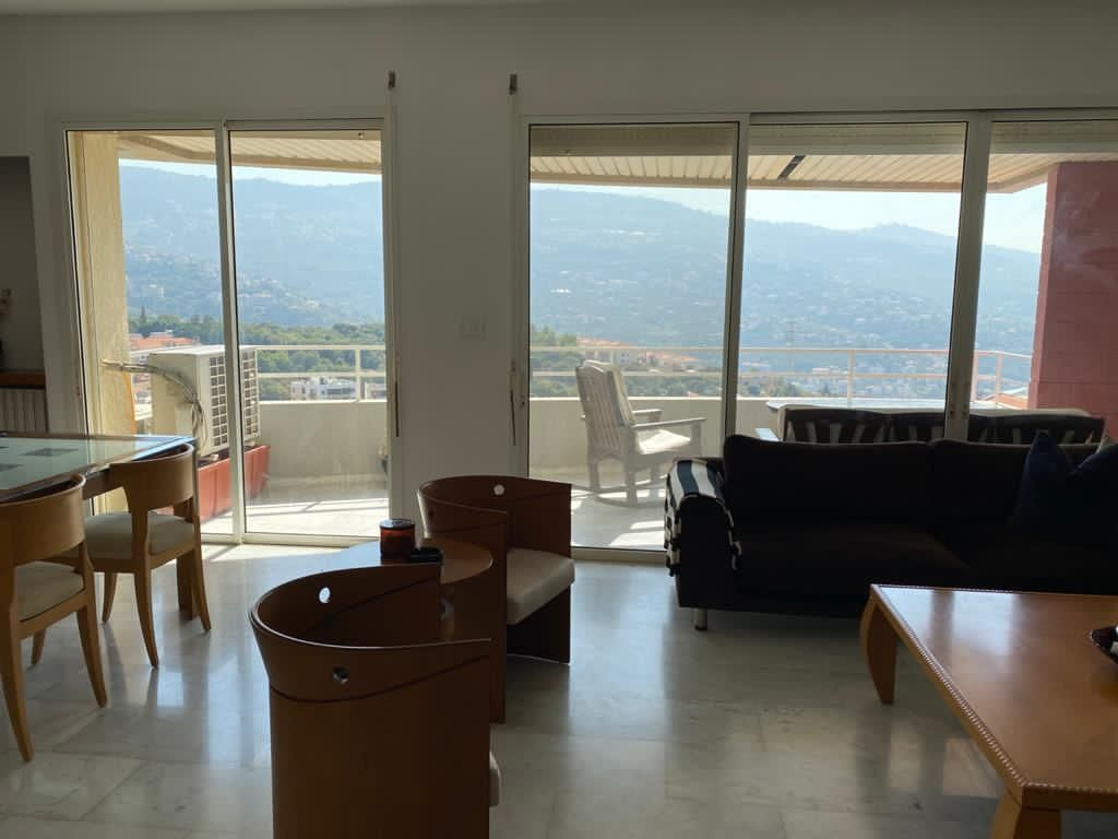 3Bderoom Apartment for Sale in Jamhour
