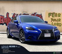 LEXUS IS 350 F SPORT MODEL 2015
