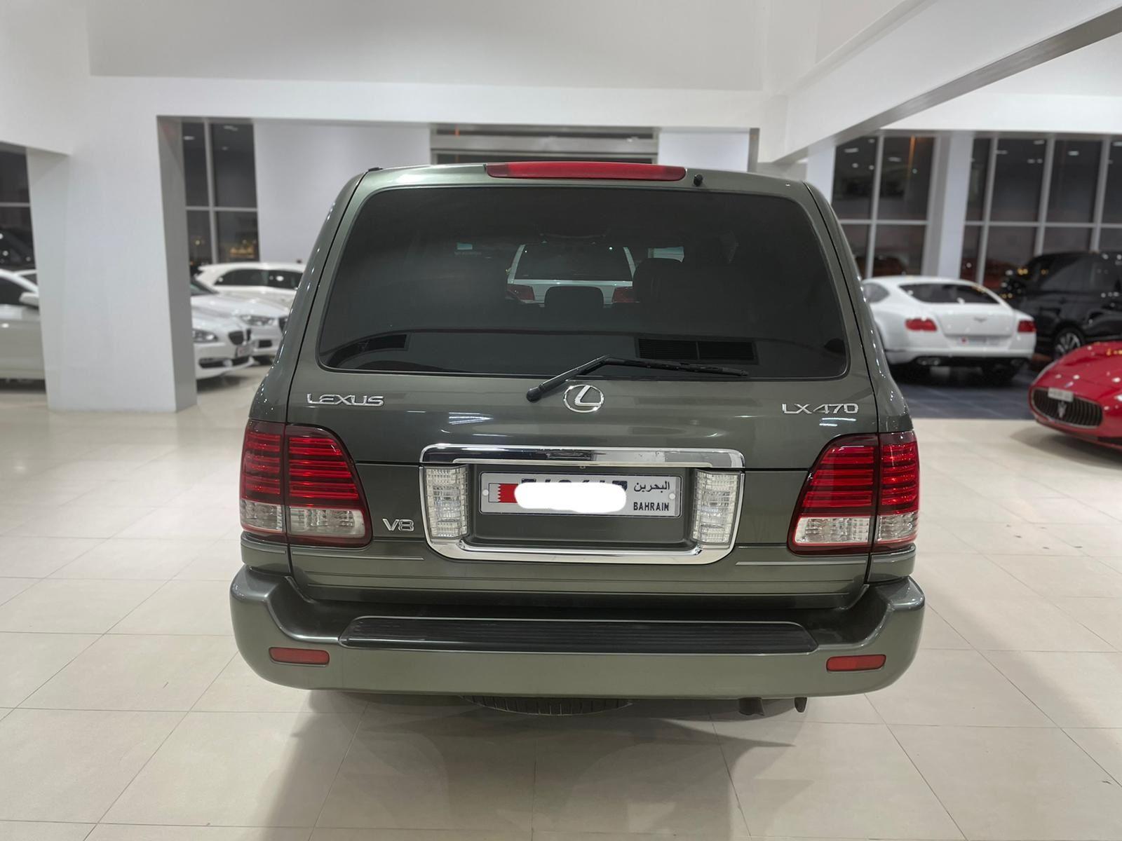 Lexus LX-470 / 2006 (Green)