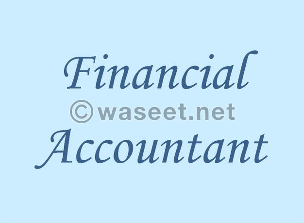 Looking for Job as Financial Accountant