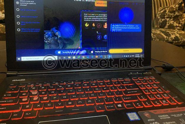 MSI GE 62 Gaming Laptop