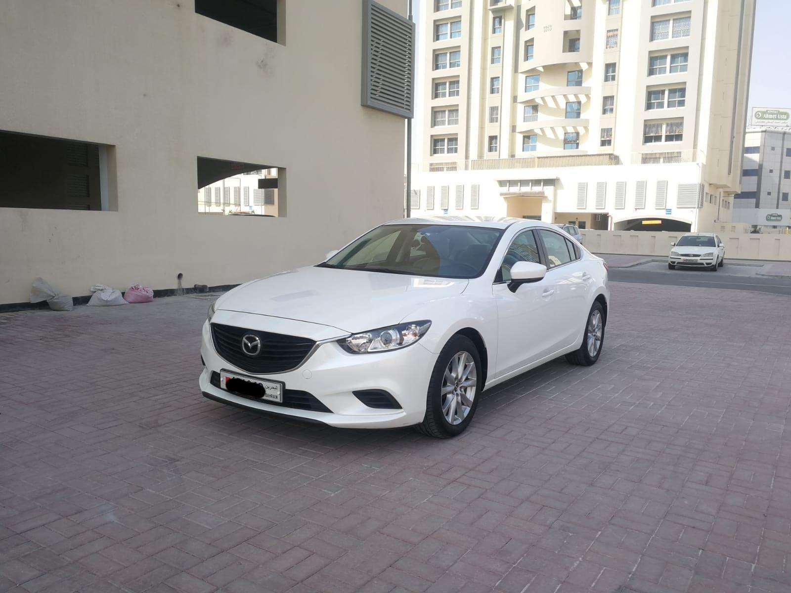 Mazda-6 / 2018 (White)