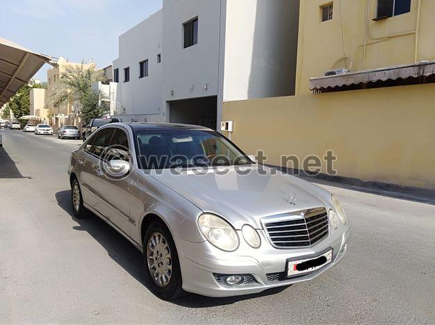 Mercedes Benz E-240 / 2003 (Silver)