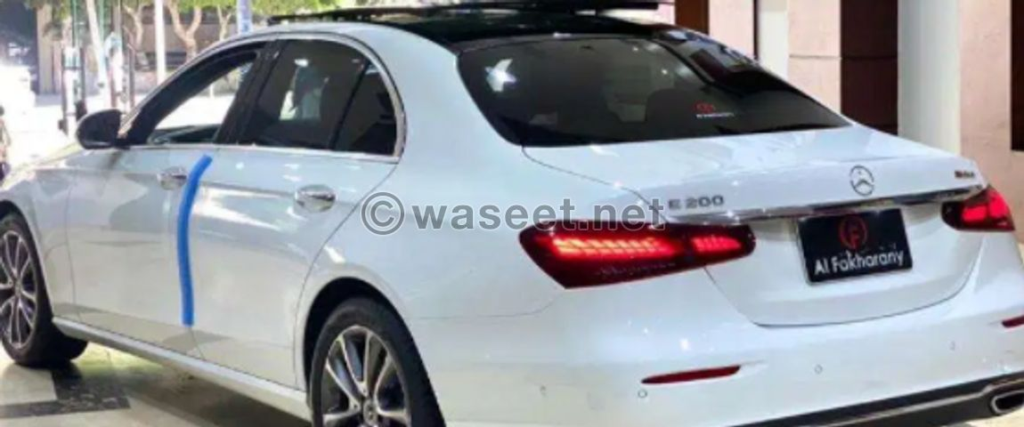 Mercedes E200 مرسيدس2021 1