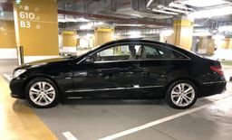 Mercedes E250 Coupe 2012 Black