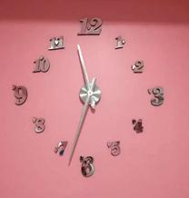 Modern 3D wall clocks for sale