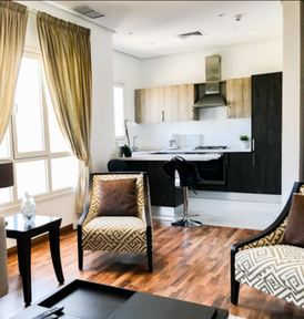 Modern one bedroom apartment for rent in Salmiya
