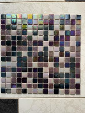 Mosaic tiles for decorations Glass mosaic