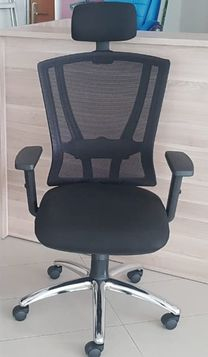 NEW OFFICE CHAIR WITH MESH BACK