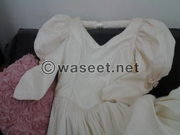 NEW wedding Dress 100% British silk at 10% its price