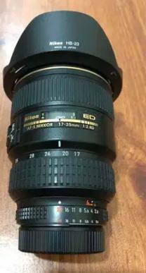 NIKON AF-S 17- 35 mm
