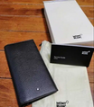 New Montblanc wallet card holder