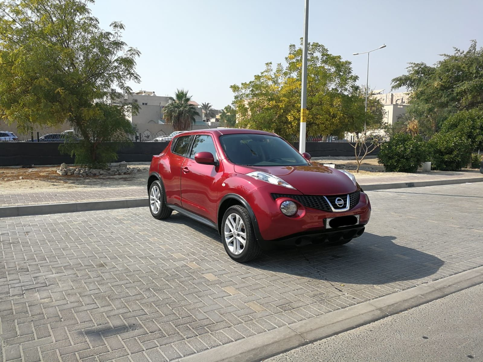 Nissan Juke 2012 (Red)