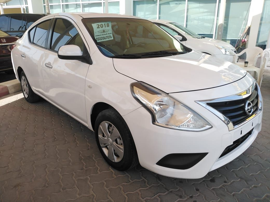 Nissan Sunny 2018 White Full Automatic