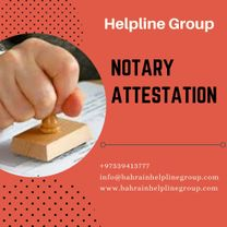 Notary Attestation in Bahrain