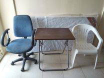 Office Chair/Office Table/Bed Mattress