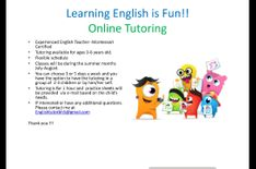 Online English Tutor